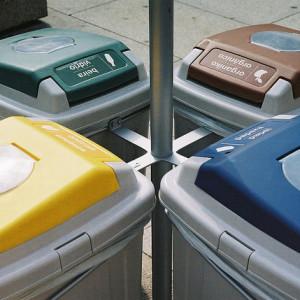 Główne kategorie pojemników na odpady
